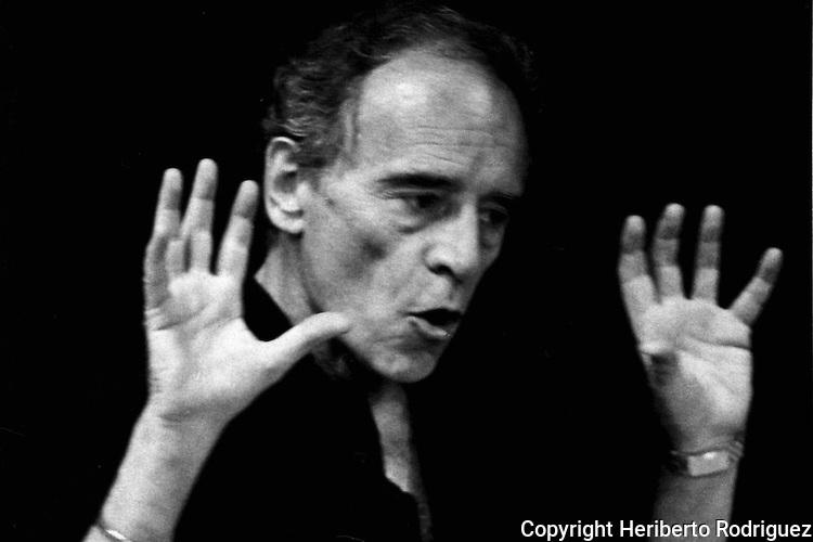 Archival photo of coreographer Michel Descombey who died December 5, 2011 in Mexico City. Descombey was the director of the Ballet Teatro del Espacio along with his wife Gladiola Orozco. Photo by Heriberto Rodriguez