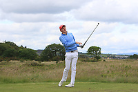 John Murphy (Kinsale) on the 15th tee during Round 4 of the East of Ireland Amateur Open Championship at Co. Louth Golf Club in Baltray on Monday 5th June 2017.<br /> Photo: Golffile / Thos Caffrey.<br /> <br /> All photo usage must carry mandatory copyright credit     (&copy; Golffile | Thos Caffrey)