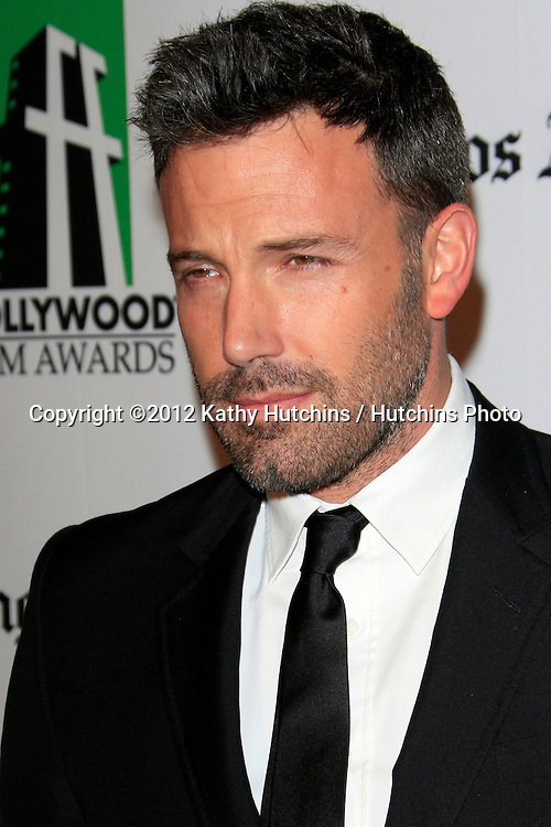 LOS ANGELES - OCT 22:  Ben Affleck arrives at  the 2012 Hollywood Film Festival Gala at Beverly Hilton Hotel on October 22, 2012 in Beverly Hills, CA