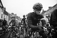 youngest rider in the peloton Will Stephenson (GBR) at the start<br /> <br /> 2013 Tour of Britain<br /> stage 1: Peebles - Drumlanrig Castle, 209km