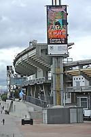 BOGOTÁ -COLOMBIA. Aspecto del estadio Nemesio Camacho El Campín de la ciudad de Bogotá, Colombia./ aspect of Nemesio Camacho El Campin in Bogota, Colombia. Photo: VizzorImage/ Str