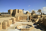 The Byzantine Governer's palace bathhouse in Caesarea National Park on Israel's central Mediterranean coast