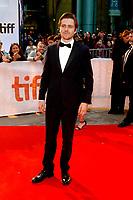 Sverrir Gudnason attending the 'Borg/McEnroe' premiere during the 42nd Toronto International Film Festival at Thomson Hall on September 07, 2017  in Toronto, Canada