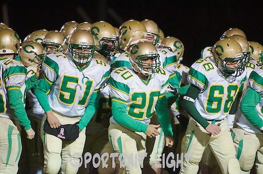 From left, CHS junior Eddie Barquero, freshman Kyle Brandao and sophomore Ryan Sorenson.