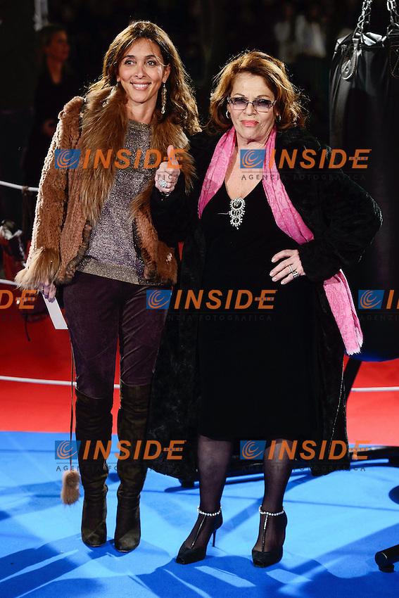 Giorgia Giacobetti, Valeria Fabrizi <br /> Roma 07-01-2014 Cinema The Space Moderno <br /> Grudge Match - Il Grande Match Premiere<br /> Foto Andrea Staccioli / Insidefoto