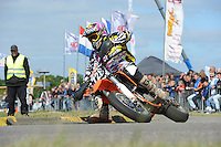 MOTORSPORT: JOURE: 09-06-2013, De Woudfennen, Supermoto Races, Allstars Boetoe klasse, Wiebren Kraak (#728) Bantega, ©foto Martin de Jong
