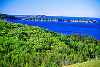 View from Castle Rock Country Inn, Cabot Trail, Ingonish Ferry, Cape Breton Island, Nova Scotia, Canada