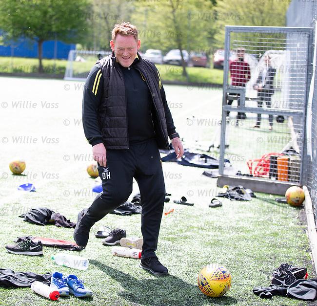 16.05.2018 Livingston FC training and presser: David Hopkin