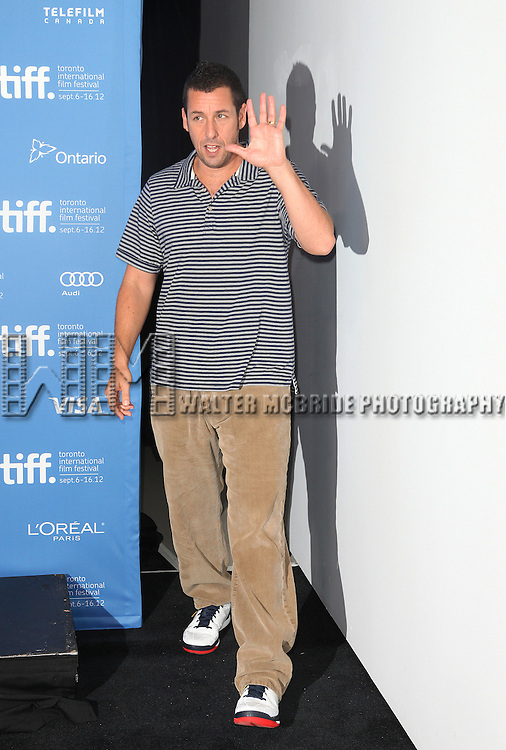 Adam Sandler attending the The 2012 Toronto International Film Festival.Photo Call for 'Hotel Transylvania' at the TIFF Bell Lightbox in Toronto on 9/8/2012