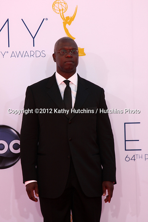 LOS ANGELES - SEP 23:  Andre Braugher arrives at the 2012 Emmy Awards at Nokia Theater on September 23, 2012 in Los Angeles, CA