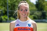AMSTELVEEN - SANNE KOOLEN, Nederlands team dames op weg naar de HWL. COPYRIGHT KOEN SUYK
