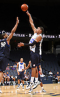 Landen Lucas at the NBPA Top100 camp June 17, 2010 at the John Paul Jones Arena in Charlottesville, VA. Visit www.nbpatop100.blogspot.com for more photos. (Photo © Andrew Shurtleff)