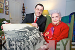 LOOKING BACK: The organisers of the Rose of Tralee Festival are attempting to bring five decades of history and memories together in 2009 as they launch a public search for archive material. Pictured l-r: John Drummey (Communications Manager for the Rose of Tralee) and Margaret Dwyer (Former committee member).   Copyright Kerry's Eye 2008