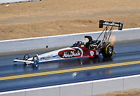 Jul. 17, 2010; Sonoma, CA, USA; NHRA top fuel dragster driver Rod Fuller during qualifying for the Fram Autolite Nationals at Infineon Raceway. Mandatory Credit: Mark J. Rebilas-