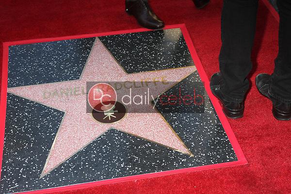 Daniel Radcliffe star<br /> at the Daniel Radcliffe Star On The Hollywood Walk Of Fame ceremony, Hollywood, CA 11-12-15<br /> David Edwards/DailyCeleb.Com 818-249-4998
