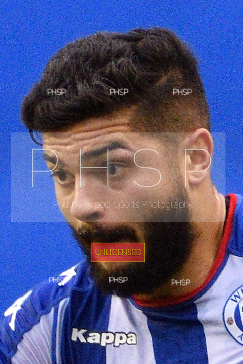 25/02/2017 Sky Bet Championship Wigan Athletic v Nottingham Forest<br /> <br /> Sam Morsy, Wigan Athletic FC