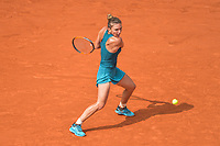 Simona Halep of Romania during Day 14 of the French Open 2018 on June 9, 2018 in Paris, France. (Photo by Baptiste Fernandez/Icon Sport)