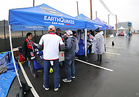San Jose, CA - March 24, 2017: The U.S. Men's National team game sponsors area before the 2018 FIFA World Cup Qualifying Hexagonal match versus Honduras at Avaya Stadium.