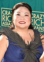 HOLLYWOOD, CA - AUGUST 07:  Selena Tan arrives at the Warner Bros. Pictures' 'Crazy Rich Asians' premiere at the TCL Chinese Theatre IMAX on August 7, 2018 in Hollywood, California.<br /> CAP/ROT/TM<br /> &copy;TM/ROT/Capital Pictures