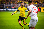 11.05.2019, Signal Iduna Park, Dortmund, GER, 1.FBL, Borussia Dortmund vs Fortuna D&uuml;sseldorf, DFL REGULATIONS PROHIBIT ANY USE OF PHOTOGRAPHS AS IMAGE SEQUENCES AND/OR QUASI-VIDEO<br /> <br /> im Bild | picture shows:<br /> Lukasz Piszczek (Borussia Dortmund #26) im Duell mit Niko Giesselmann (Fortuna #23), <br /> <br /> Foto &copy; nordphoto / Rauch