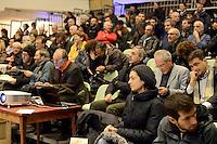 Roma, 15 Dicembre 2012.Cinema Palazzo occupato.Assemblea per una presenza alternativa alle elezioni politiche