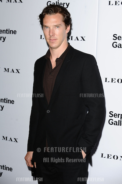 Benedict Cumberbach arriving for the Serpentine Gallery Summer Party 2012, Hyde Park, London. 26/06/2012 Picture by: Steve Vas / Featureflash
