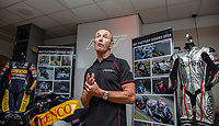 RST Launches a new Airbag Project for Motorcycles in partnership with In&Motion during the TT (Tourist Trophy) on the Isle of Man where the new intelligent protection technology is being tested, at Conrod's Coffee Shop, Ramsey, Isle of Man on 1 June 2019. Photo by David Horn.