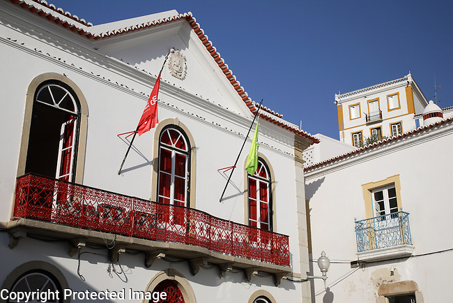 Town Hall, Mertola, Portugal