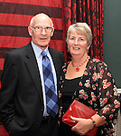 Dessie and Madge O'Rourke at the Dinner Dance in the Westcourt Hotel...(Photo credit should read Jenny Matthews www.newsfile.ie)....This Picture has been sent you under the conditions enclosed by:.Newsfile Ltd..The Studio,.Millmount Abbey,.Drogheda,.Co Meath..Ireland..Tel: +353(0)41-9871240.Fax: +353(0)41-9871260.GSM: +353(0)86-2500958.email: pictures@newsfile.ie.www.newsfile.ie.