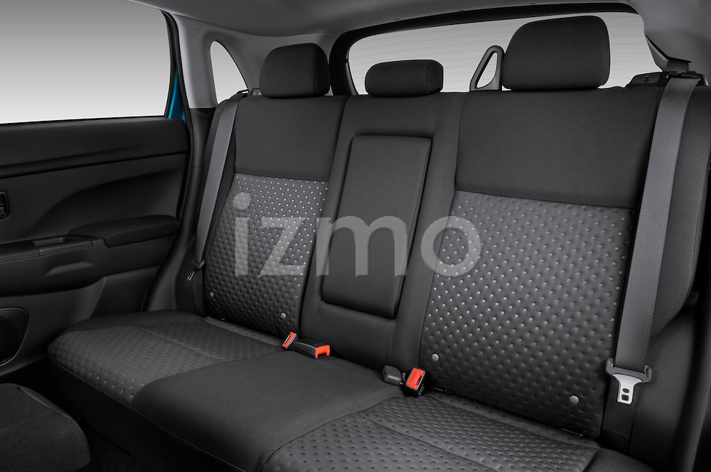 Rear seats of a 2011 Mitsubishi Outlander Sport SE