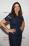 """Director Kimberly Senior attends the Photo Call for  """"Sakina's Restaurant"""" on September 20, 2018 at Feinstein's/54 Below in New York City."""