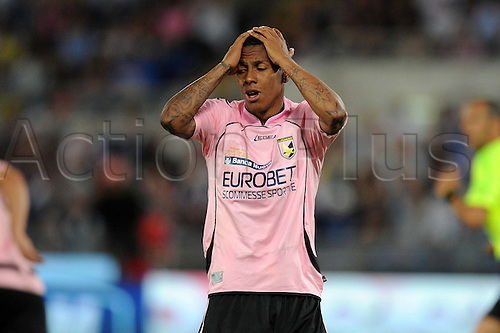 29.05.2011 Abel Hernandez (Palermo) Coppa Italia (TIM Cup) Final match between Inter Milan 3-1 Palermo at Stadio Olimpico in Rome, Italy.