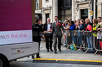 Jeremy Corbyn and Chris Ostrowski (Labour Party candidate for Member of Parliament for Watford).<br /> <br /> Watford, 07/06/2017. Documenting the last day of Jeremy Corbyn and the Labour Party electoral Campaign on the eve of the General Election 2017: Watford.