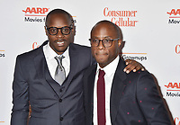 BEVERLY HILLS, CA - FEBRUARY 04: Karim M. Karifa-Smart (L) and Barry Jenkins attend the 18th Annual AARP The Magazine's Movies For Grownups Awards at the Beverly Wilshire Four Seasons Hotel on February 04, 2019 in Beverly Hills, California.<br /> CAP/ROT/TM<br /> &copy;TM/ROT/Capital Pictures