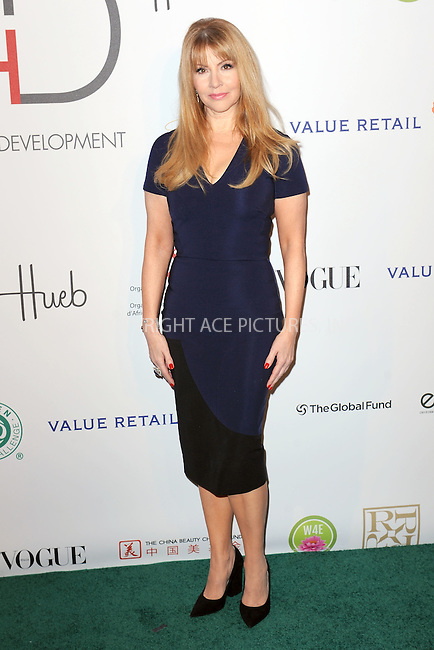 WWW.ACEPIXS.COM<br /> September 28, 2015 New York City<br /> <br /> Evie Evangelou attending the Fashion 4 Development's 5th annual Official First Ladies luncheon at The Pierre Hotel on September 28, 2015 in New York City.<br /> <br /> Credit: Kristin Callahan/ACE Pictures<br /> <br /> Tel: (646) 769 0430<br /> e-mail: info@acepixs.com<br /> web: http://www.acepixs.com
