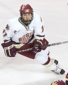 Joe Adams - The Boston College Eagles and Ferris State Bulldogs tied at 3 in the opening game of the Denver Cup on Friday, December 30, 2005, at Magness Arena in Denver, Colorado.  Boston College won the shootout to determine which team would advance to the Final.