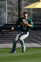 Siena Saints outfielder Vincent Citro (6) during a game against the Central Florida Knights at Jay Bergman Field on February 16, 2014 in Orlando, Florida.  UCF defeated Siena 9-6.  (Mike Janes/Four Seam Images)