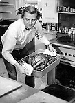 Vice President Walter Mondale cooks thanksgiving turkey 42 Vice President of the United States member of Democratic Party former Senator from Minnesota,