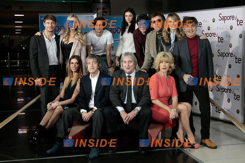 Il cast con attori e registi<br /> Roma 08-01-2014 Cinema Adriano, Sapore di Te - Photocall<br /> Photo Samantha Zucchi Insidefoto