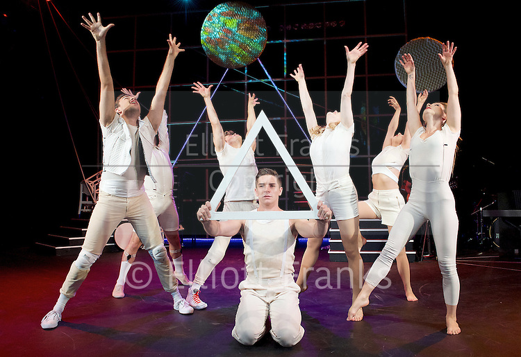 The Who's Tommy <br /> at Greenwich Theatre, London, Great Britain <br /> press photocall <br /> 30th July 2015 <br /> <br /> music and lyrics by Pete Townshend <br /> additional music and lyrics by Keith Moon and John Entwistle <br /> <br /> directed by Michael Strassen <br /> <br /> Ashley Birchall as Tommy <br /> and company <br /> <br /> <br /> <br /> <br /> <br /> Photograph by Elliott Franks <br /> Image licensed to Elliott Franks Photography Services
