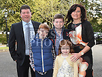 Cathal O'Reilly who was confirmed at the Church of the Immaculate Conception Termonfeckin with his family. Photo:Colin Bell/pressphotos.ie