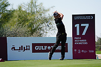 Haydn Porteous (RSA) on the 17th during Round 1 of the Commercial Bank Qatar Masters 2020 at the Education City Golf Club, Doha, Qatar . 05/03/2020<br /> Picture: Golffile | Thos Caffrey<br /> <br /> <br /> All photo usage must carry mandatory copyright credit (© Golffile | Thos Caffrey)