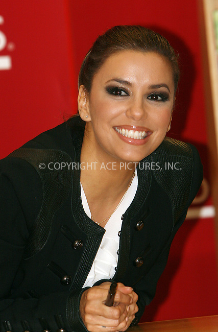 WWW.ACEPIXS.COM . . . . .  ....April 4 2011, New York City....Actress Eva Longoria signed copies of  her new book 'Eva's Kitchen' at Borders Columbus Circle on April 4, 2011 in New York City. ....Please byline: NANCY RIVERA- ACE PICTURES.... *** ***..Ace Pictures, Inc:  ..tel: (212) 243 8787 or (646) 769 0430..e-mail: info@acepixs.com..web: http://www.acepixs.com