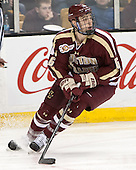 Steven Santini (BC - 6) - The Boston College Eagles defeated the Boston University Terriers 3-1 (EN) in their opening round game of the 2014 Beanpot on Monday, February 3, 2014, at TD Garden in Boston, Massachusetts.