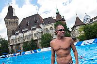 MAY Bill USA during the training session<br /> Synchronised swimming , Synchro<br /> 12/07/2017 <br /> XVII FINA World Championships Aquatics<br /> City Park - Varosliget Lake<br /> Budapest Hungary July 14th - 30th 2017 <br /> Photo @ Giorgio Perottino/Deepbluemedia/Insidefoto