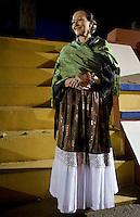 Patricia Quintana in the Museo Casa Frida Kahlo, Coyoacan. Aromas y Sabores with Chef Patricia Quintana, Mexico City, Mexico