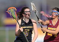 Girls Lacrosse JV vs. Brebeuf 3-31-10