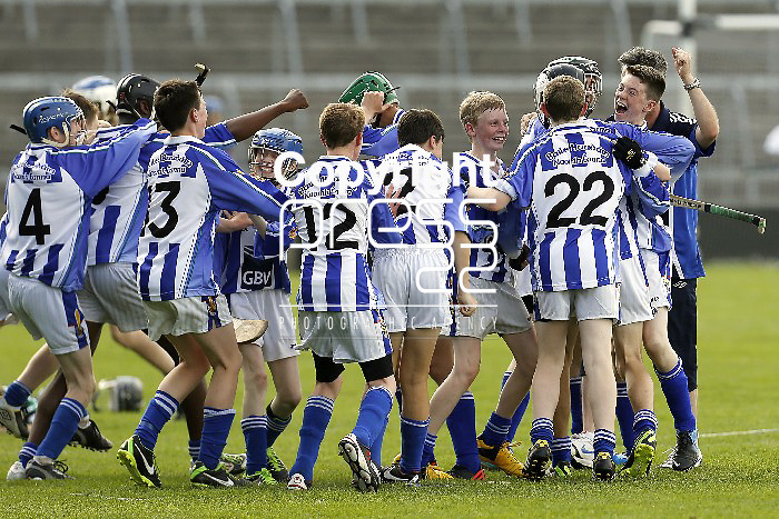XX SPORT 07/07/2013 Ballyboden St Enda's players celebrate after defeating Douglas in the Feile Na nGael Division 1 final at the Gaelic Grounds, Limerick. Picture: Don Moloney / Press 22