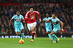 Marouane Fellaini of Manchester United pushes forward - Manchester United vs West Ham United - Barclay's Premier League - Old Trafford - Manchester - 05/12/2015 Pic Philip Oldham/SportImage