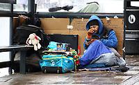 FEB 3 Homeless on the streets of Windsor